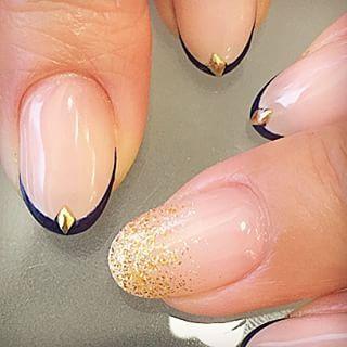 @risa.k.nail - 極細フレンチ❤︎#gels#gelnails#frenchnails#japanesenai... - Pikore (253061)