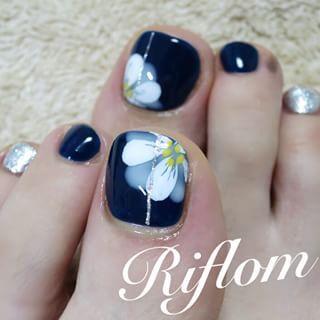 @nailsalon_riflom - navy... - Pikore (253081)