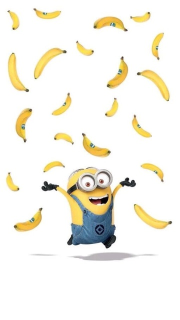 Always be yourself unless you can be a minion then shout i want banana 🍌 | We Heart It (255037)