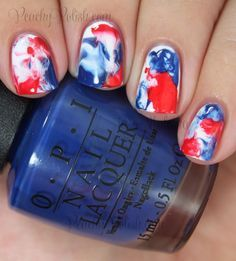 Happy Independence Day!: 4th of July Nail Art | ネイル | Pinterest (257637)