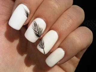Top 10 Simple Ways to Spice Up White Nails (257772)