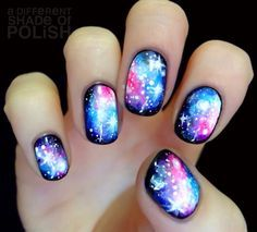 Galaxy Nails Probably my favorite of all time (260796)