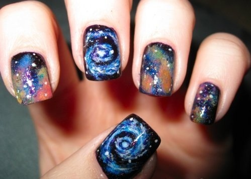 Spiral Galaxy #Nails | Nail Art | Pinterest (260811)
