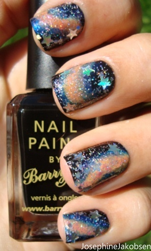 Galaxy nails - Nail Art Gallery (260812)