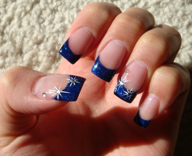 Night Sky - Nail Art Archive - Style - NAILS Magazine (261088)