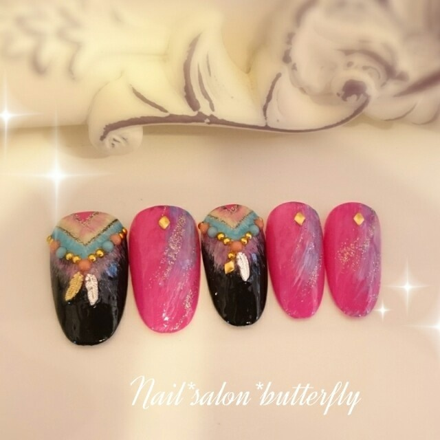 nail_salon_butterflyさんのネイル♪[1101995] | ネイルブック (262569)