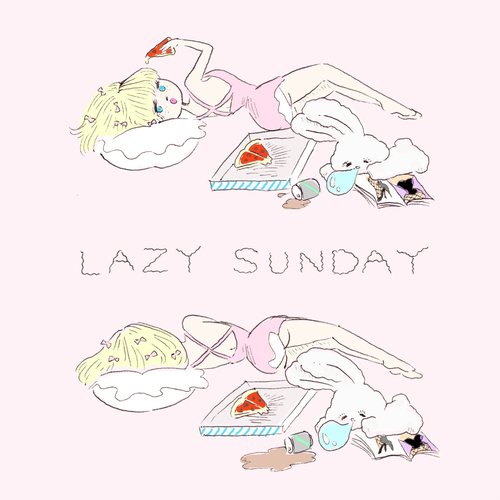 LAZY SUNDAY | We Heart It (262828)