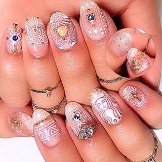 @maco.0524 - my nail 完成形... - Pikore (263575)