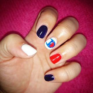 @maaxaaa - New nail \( ˆ ˆ )/♡ #セルフネイル #チャンピオンネイル  #ネイル... - Pikore (263748)