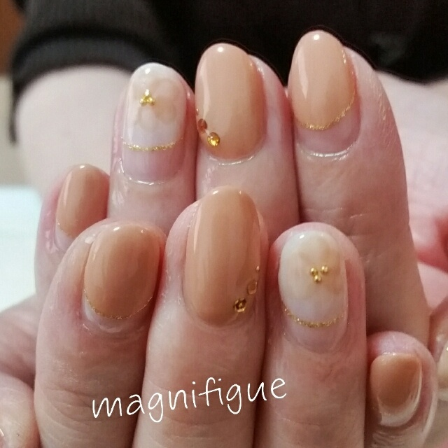 magnifigue_nailさんのネイル♪[1125773] | ネイルブック (279205)