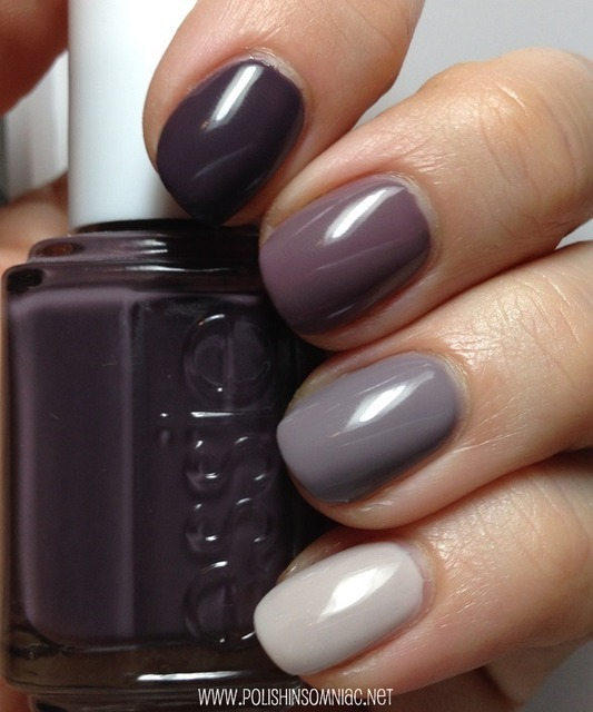 polish insomniac: An Essie Ombre - Smokin' Hot, Merino Cool, Chinchilly, and Body Language (279531)
