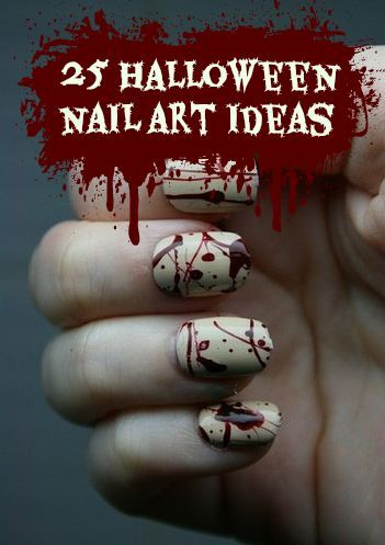 25 Halloween Nail Art Ideas You Need   | StyleCaster (281341)