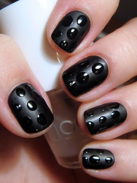 Attention Everyone: 15 Reasons to NOT Retire Black Nail Polish! (281367)