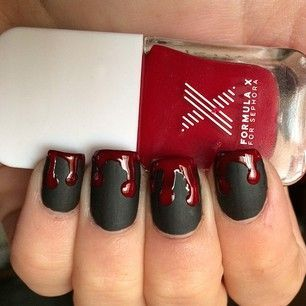 "21 ""True Blood"" Inspired Manicures That Will Bring Out Your Inner Vampire (285610)"
