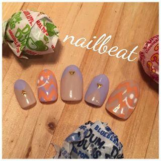 @nailbeat - #nail#秋nail#nailbeat#halloween#autum#smile#ネイル#... - Pikore (288326)