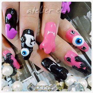 @nail_atelier_el - お客様ネイル♪#nail#nailart#naildesign#gelnail#nails... - Pikore (289765)