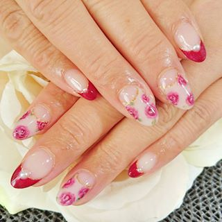 @178_723 - バラネイル🌹#バラネイル#ネイル#rosenail#rosenails... - Pikore (289867)