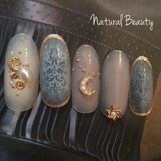 @naturalbeauty.s - #ネイル#ネイルサロン#nail#ネイルサロン福岡#エアブラシ#秋ネイル#ABGEL#ムー... - Pikore (289869)
