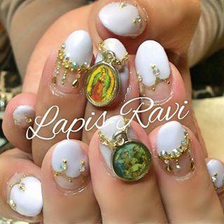 @lapisravi_nail - #nail #nailart #OSAKA #osaka #大阪 #十三 #ネイル... - Pikore (289873)