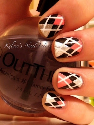 #argyle #nails #nailart | nail | Pinterest (298911)