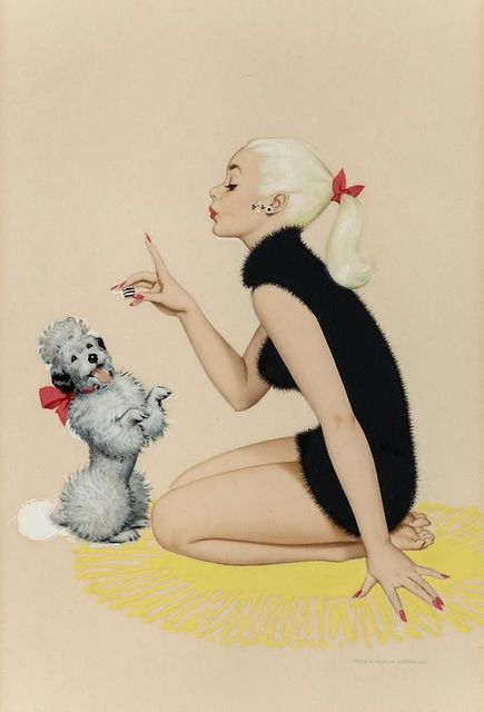 Pin-up | pin up ilustraciones | Pinterest | We Heart It (303746)