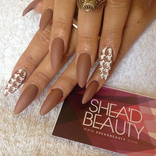 Chocolate Nails | We Heart It (304251)