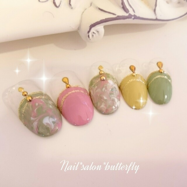 nail_salon_butterflyさんのネイル♪[1197508] | ネイルブック (309247)