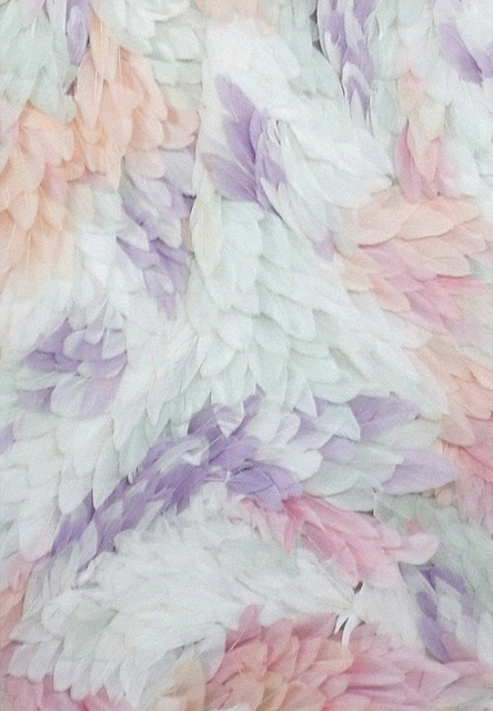 Plumas coloridas ❤ by lupita | We Heart It (314701)