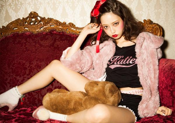 """Katie 2014 Fall & Winter Collection"" TEENAGE CANDY ""カタログのモデルをしました❤️webカタログがUPされたよ。【http://t.co/3qvvZmzWb5】 http://t.co/FnUsUkdiKF"" (314739)"