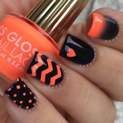 Mix n match nails by FTeresa | We Heart It (324414)