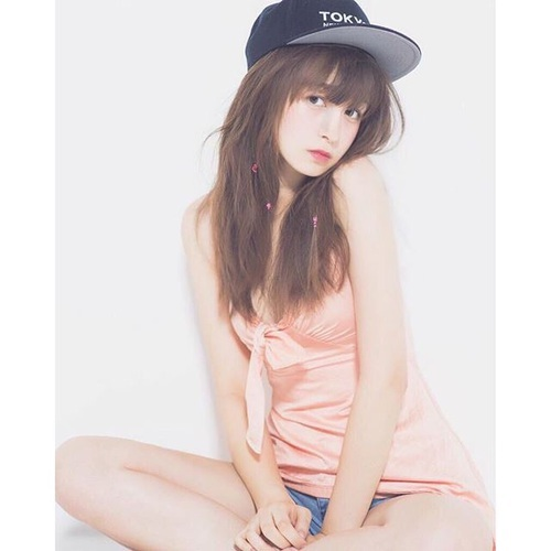 japanese, girl, and model by <3 | We Heart It (326619)