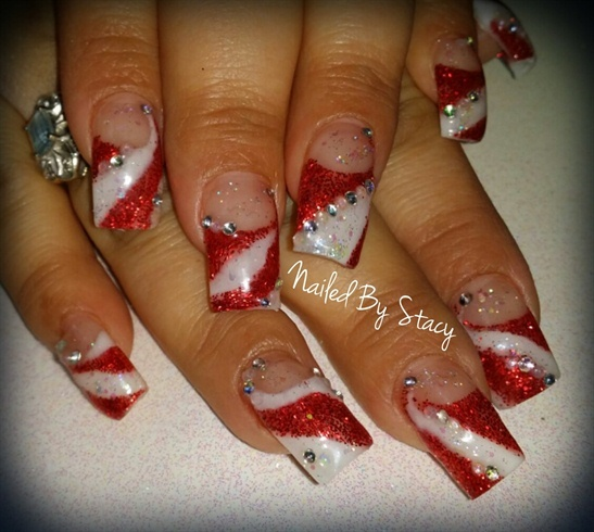 Santa's Candy Shop Helper - Nail Art Gallery (330300)