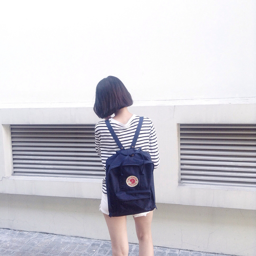backpack, daily, and navy by Xenie yang | We Heart It (338624)