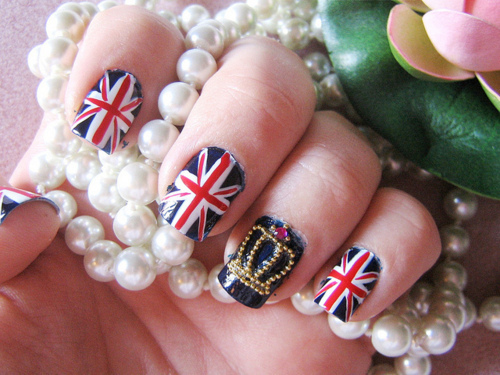 British nail by Daily Nails | We Heart It (339274)