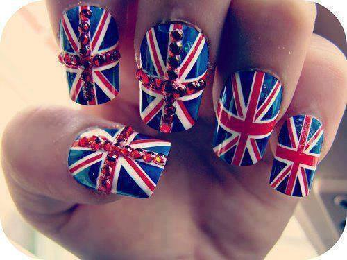 Fave Fashion,Enjoy Fashion (onedirectioner31419: London nails :-)) by daydreamer ❄ | We Heart It (339277)