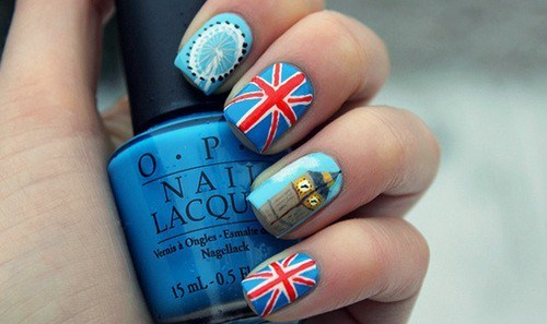Nail Art by Cynthia Cuéllar. | We Heart It (339278)