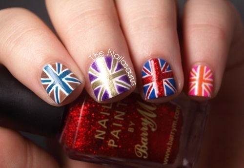 union jack rainbow by Yuu♥ | We Heart It (339284)