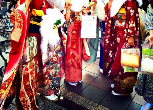 Coming of age ceremony✩ by Chisato | We Heart It (341071)