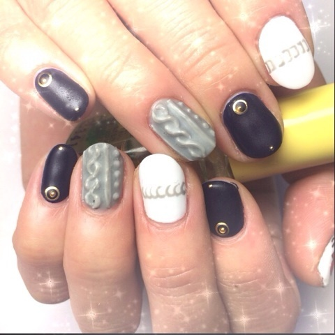 ニットネイル*|Beauty Salon nagomi (343254)