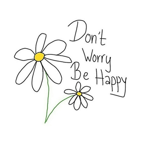 Don't worry be happy:) by okay | We Heart It (348991)