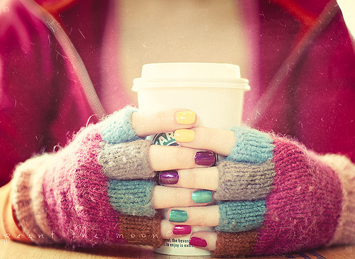 Cool Photos and Artworks for Your Inspiration 6 | The Design Inspiration | We Heart It | nails, starbucks, and coffee (353025)
