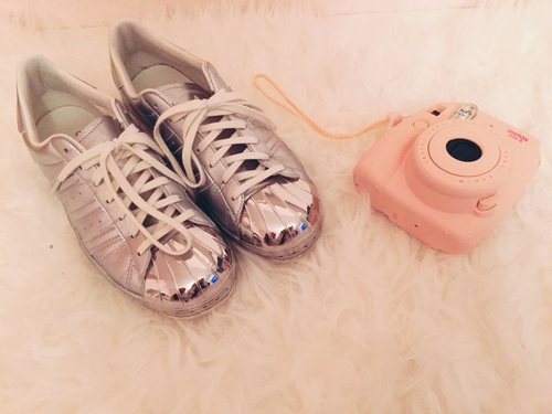 adidas, fluffy, and superstars by mrssilveer | We Heart It (354603)
