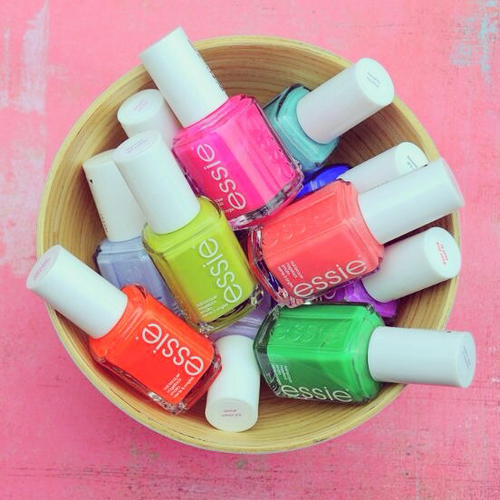 essie nail polish <3333 :) by Petra ♡   We Heart It (361921)