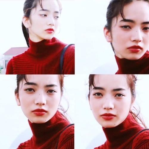 小松菜奈 by P | We Heart It (363855)