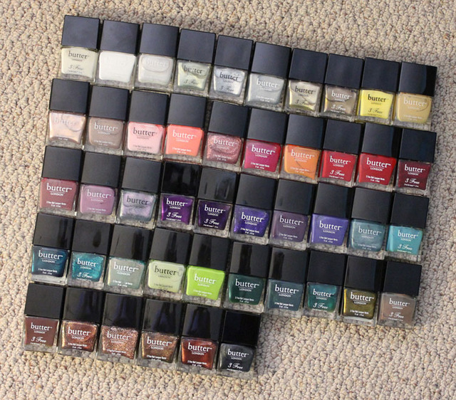 My Nail Polish Collection Featuring butter LONDON | Vampy Varnish (366206)