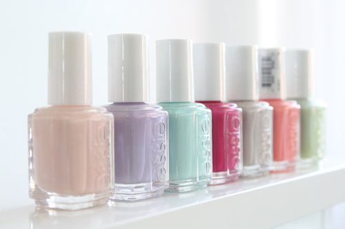 pastel colors from Essie ♥ by Worst Romance | We Heart It (367516)