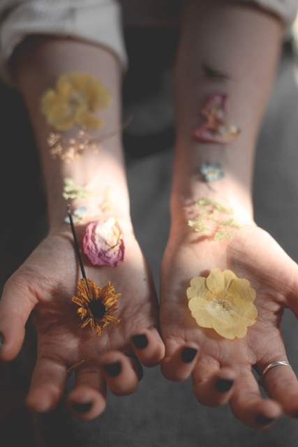 Pressed Flower Lollipops | Free People Blog by Nyina | We Heart It (371600)