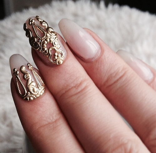 Its like tattoos on nails by Milica | We Heart It (372659)