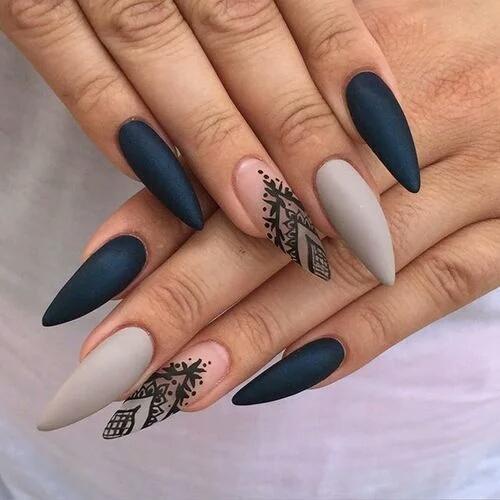 New beautiful nails💅🏾 by Zaffina | We Heart It (374669)