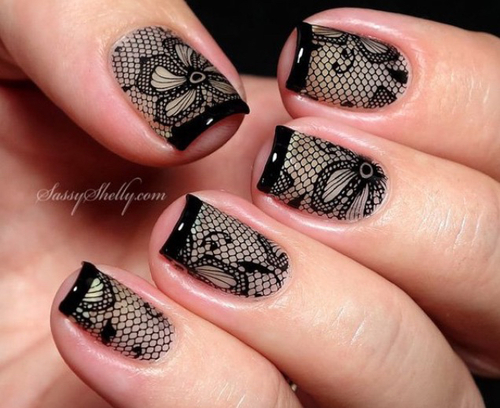 uñas decoradas by Hannah | We Heart It (374689)
